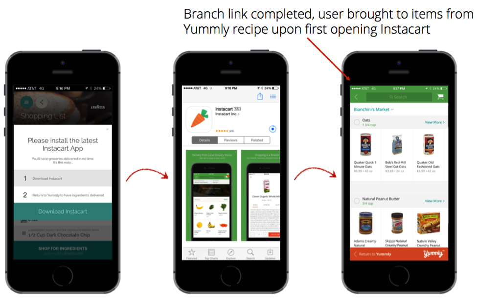 Improved user experience for mobile growth